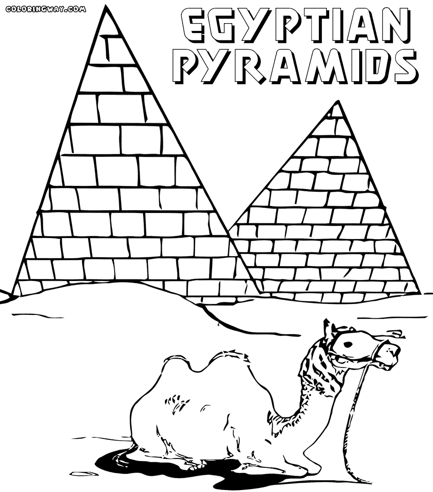 ancient egypt coloring pages - egyptian coloring pages