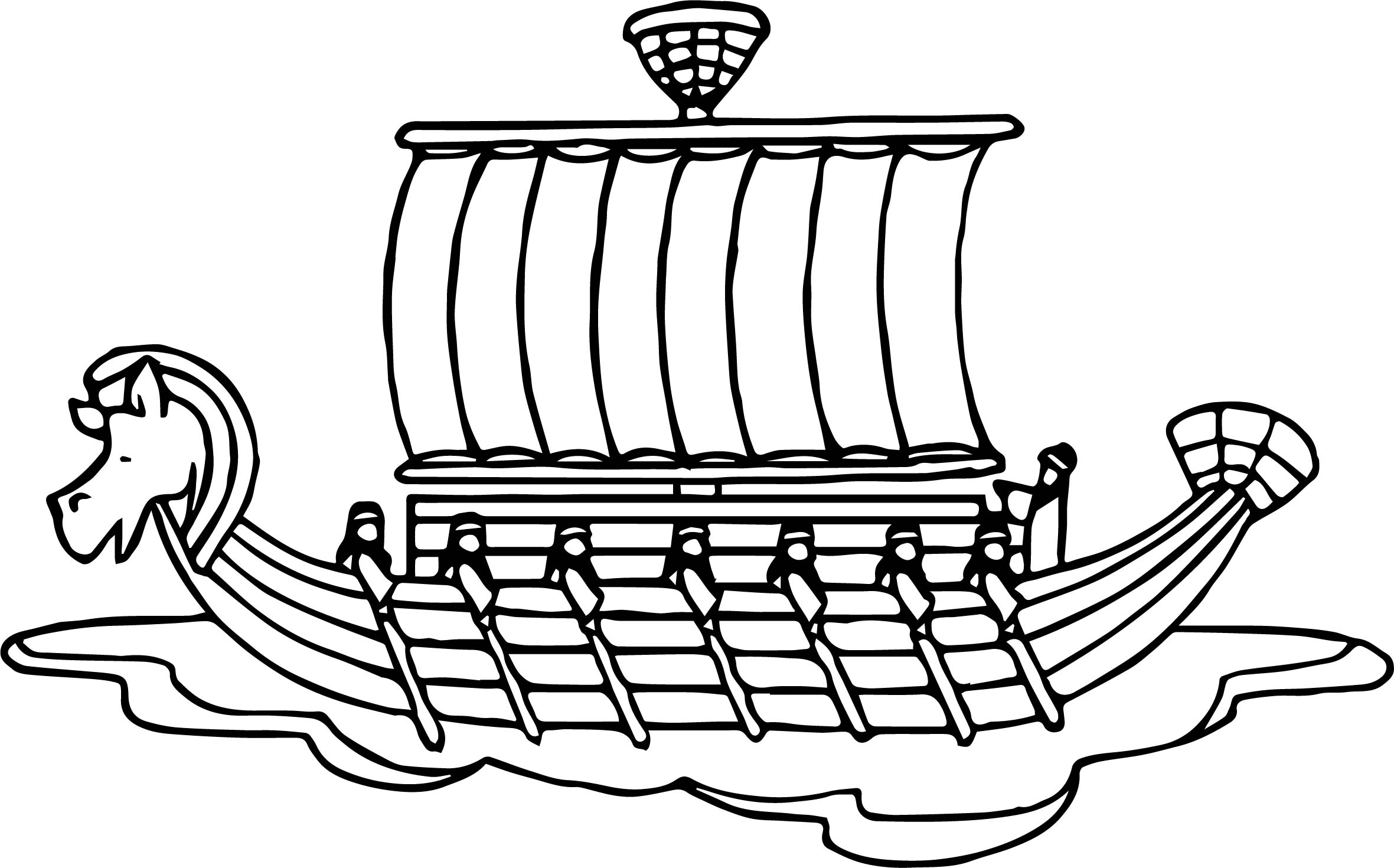 ancient egypt coloring pages - ancient egypt ship coloring page