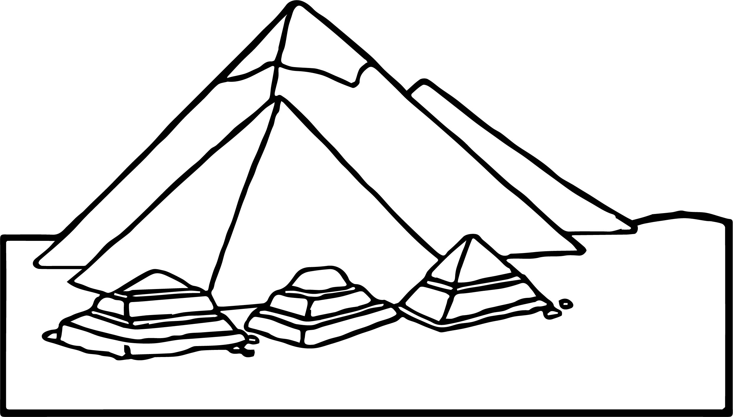 ancient egypt coloring pages - new ancient egypt pyramid coloring page