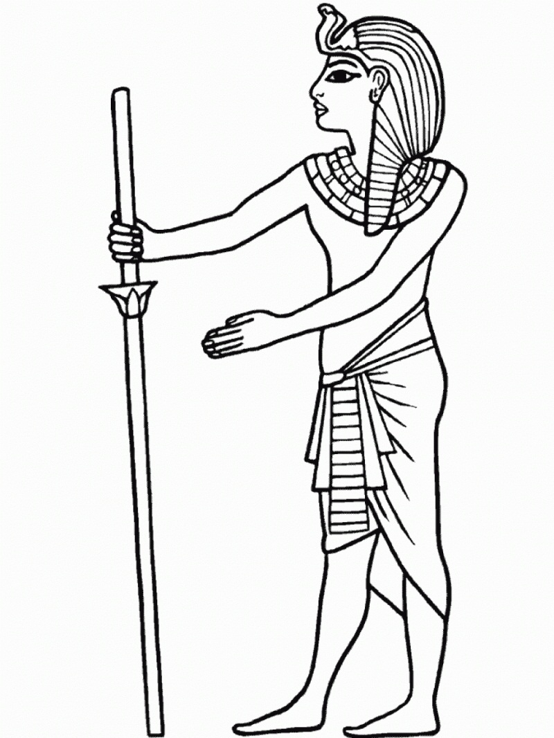 ancient egypt coloring pages - printable ancient egypt coloring pages