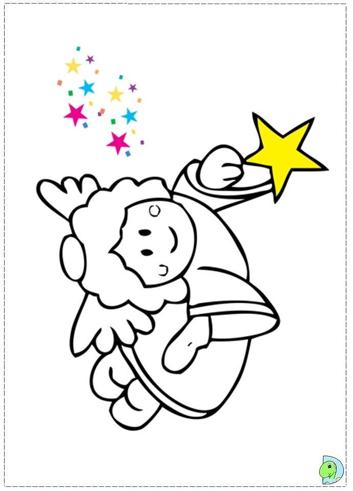 Angel Coloring Pages - Angel Coloring Page Christmas Angel Colouring Page