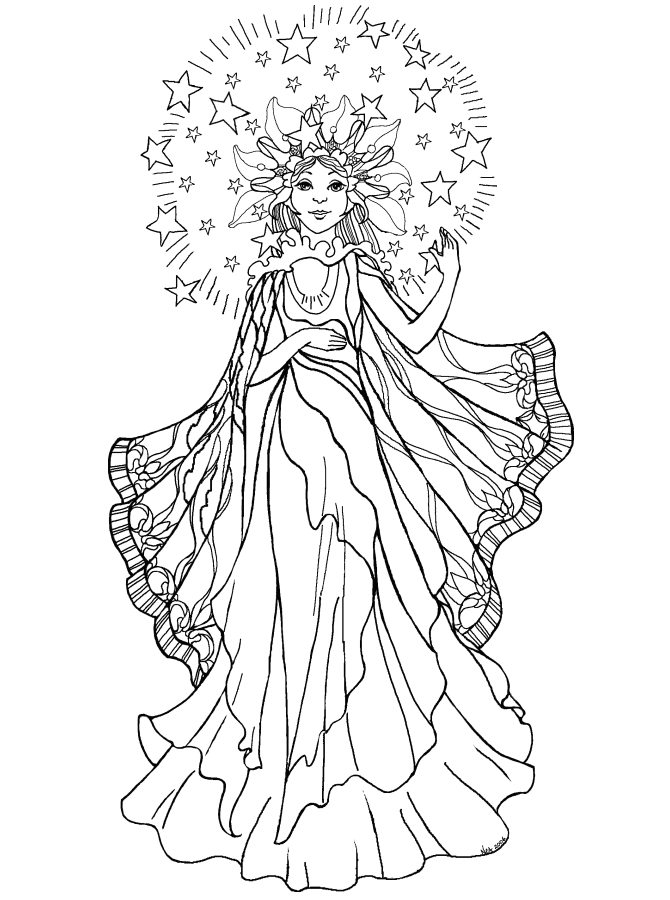 Angel Coloring Pages for Adults - Angel Coloring Pages for Adults Az Coloring Pages