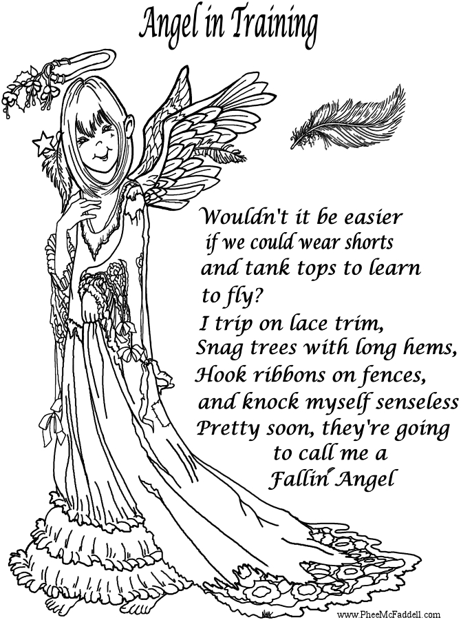 23 Angel Coloring Pages for Adults Collections | FREE COLORING PAGES ...