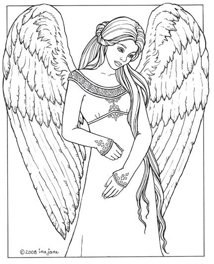 angel coloring pages for adults - beautiful angel coloring pages for adults sketch templates