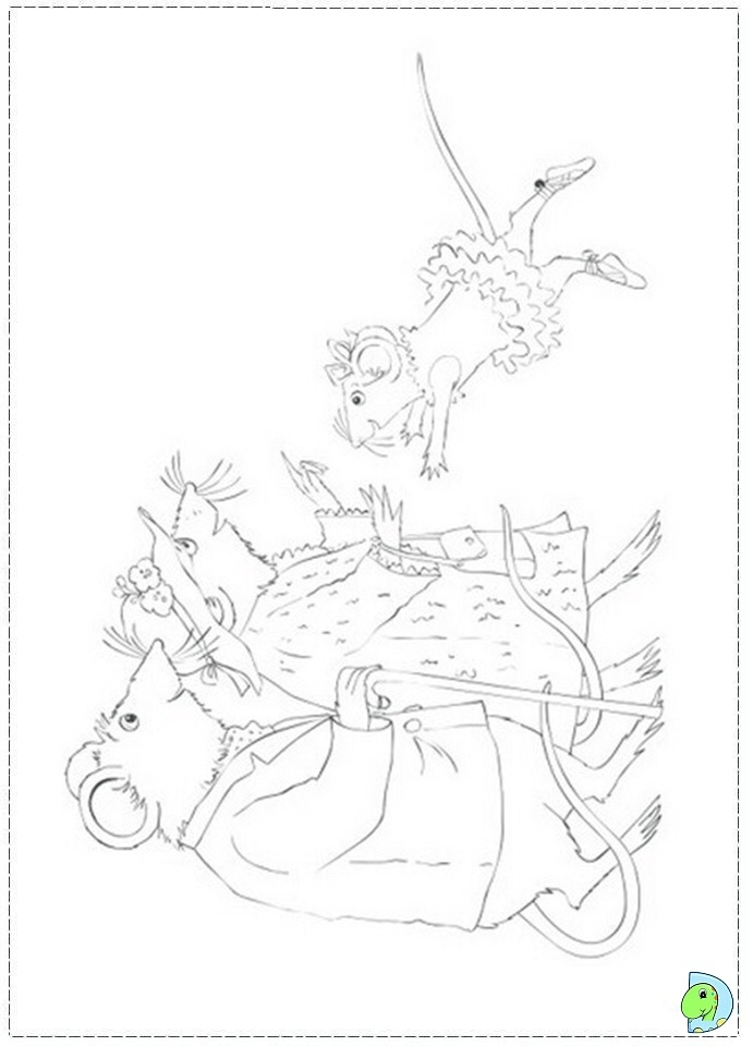 Angelina Ballerina Coloring Pages - Angelina Ballerina Coloring Page Dinokids