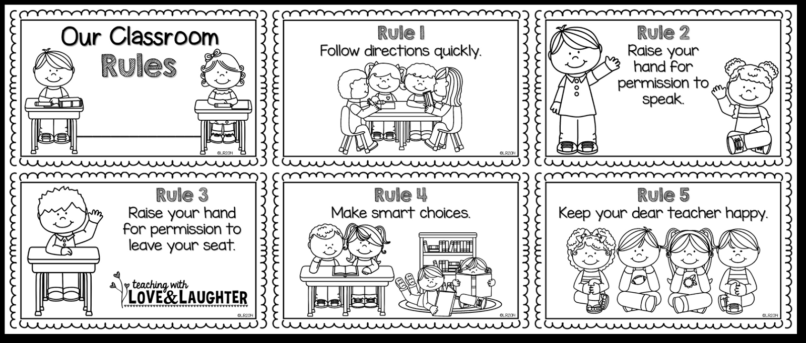 anger management coloring pages - classroom rules worksheet