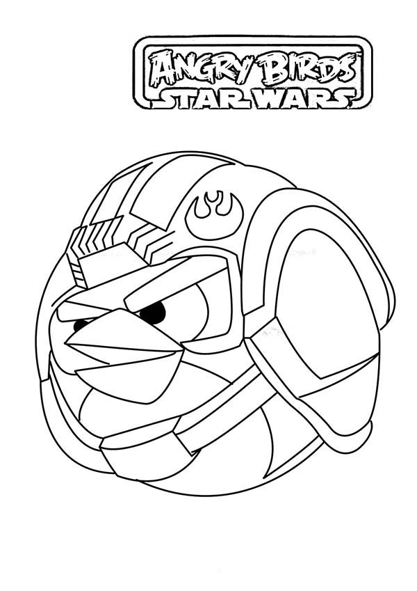 24 Angry Birds Star Wars Coloring Pages Printable | FREE COLORING ...