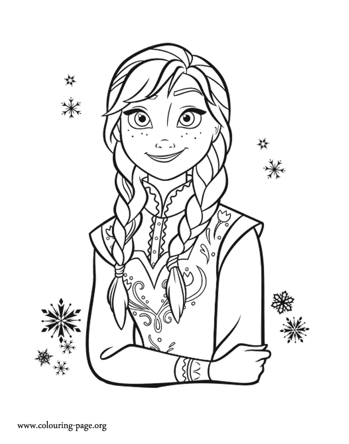 anna coloring pages - 1256 princess anna coloring page