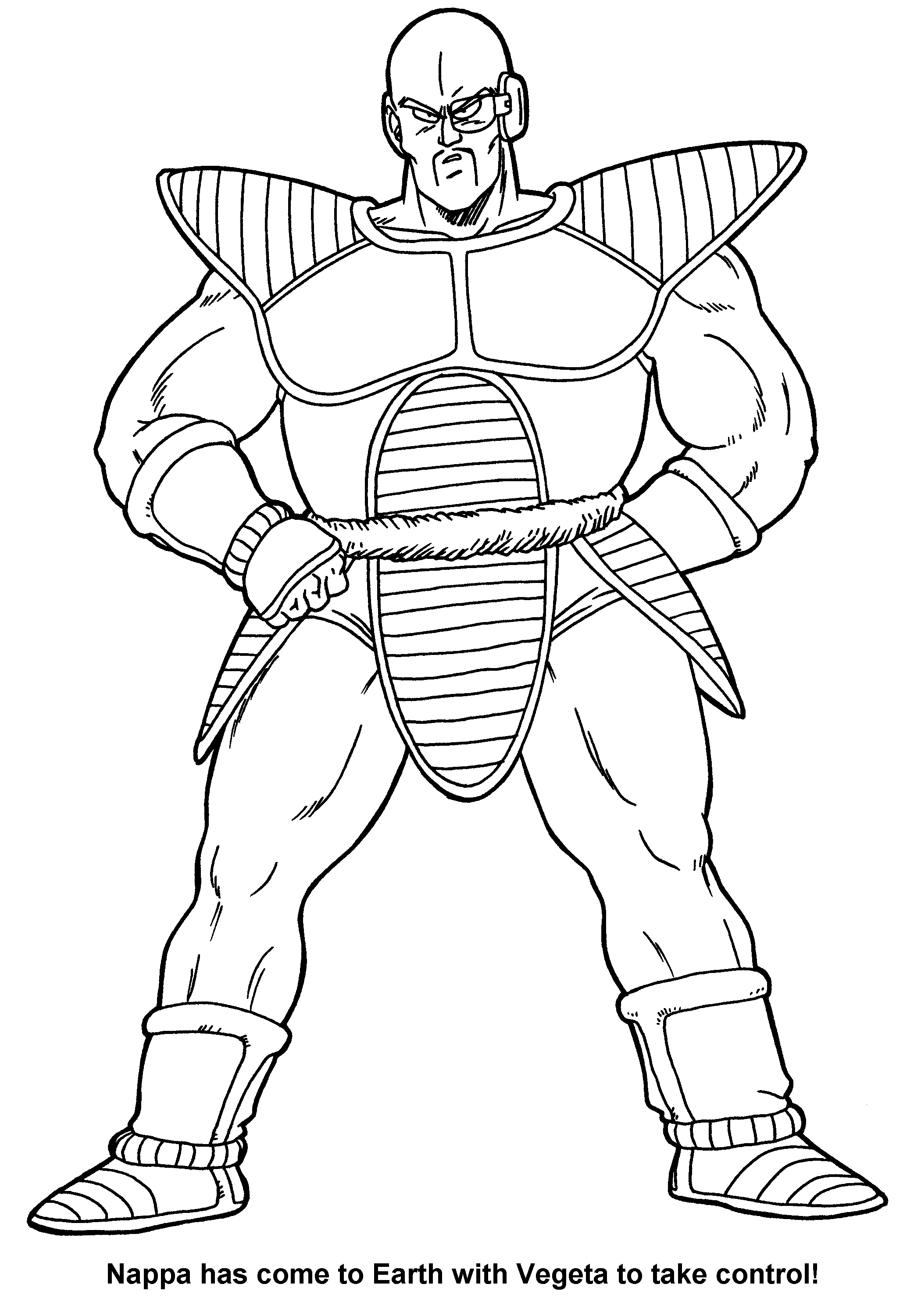 ant man coloring pages - colorear dibujos dragon ball z