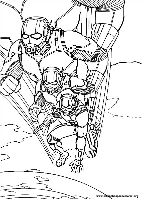 ant man coloring pages - desenhos id=