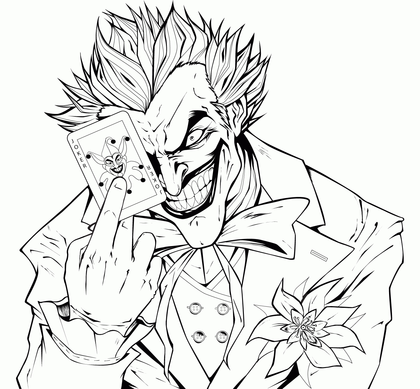 anxiety coloring pages - super villain coloring pages