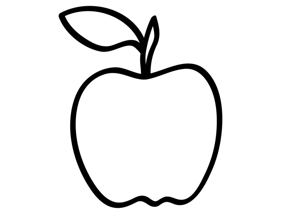apple coloring pages - apple coloring pages 1193