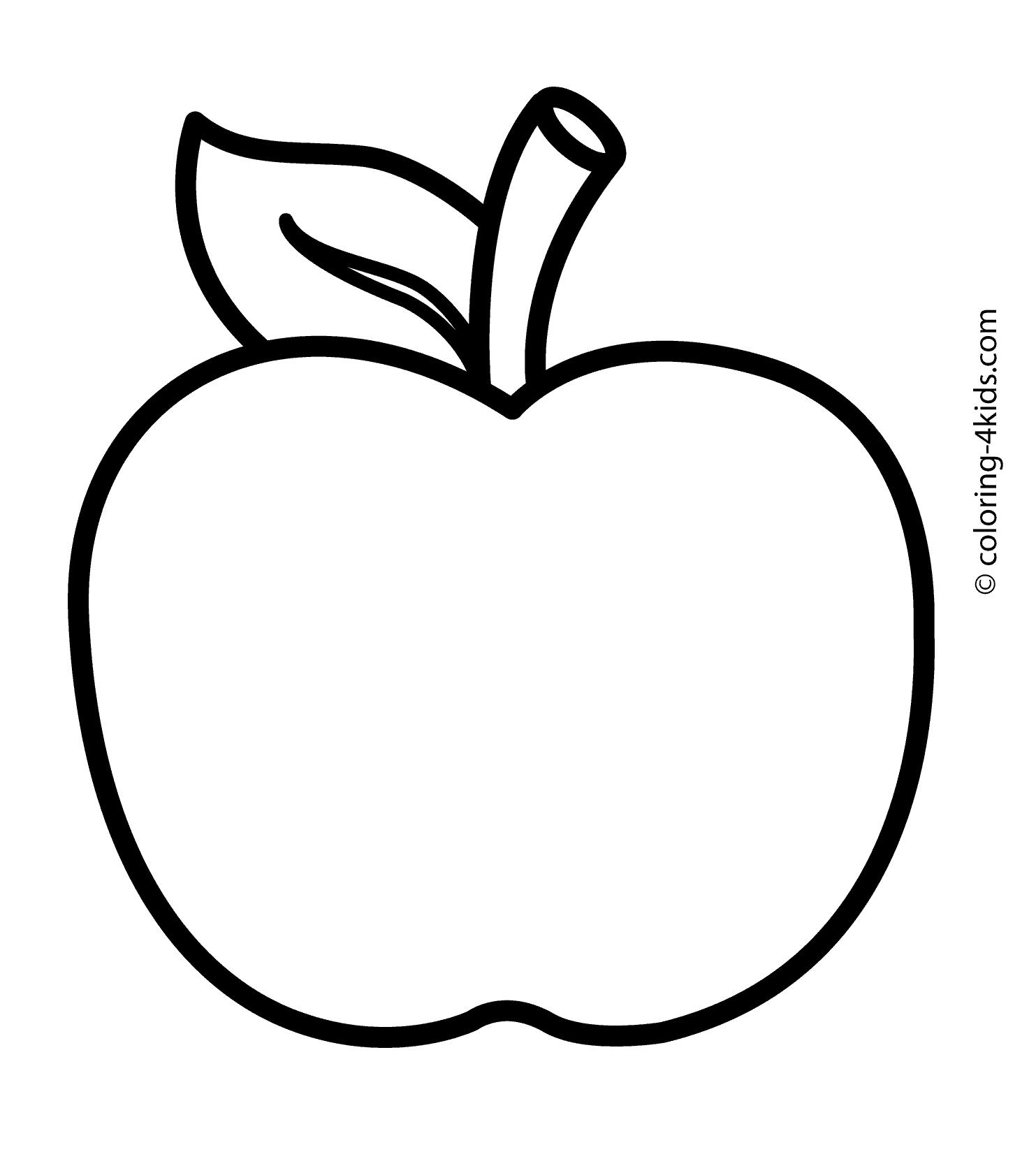 apple coloring pages - apple coloring pages 2021