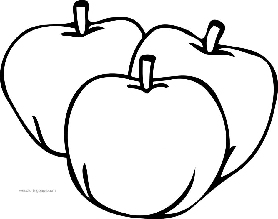 apple coloring pages - apple coloring pages