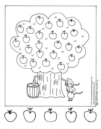 25 Apple Tree Coloring Page Selection Free Coloring Pages