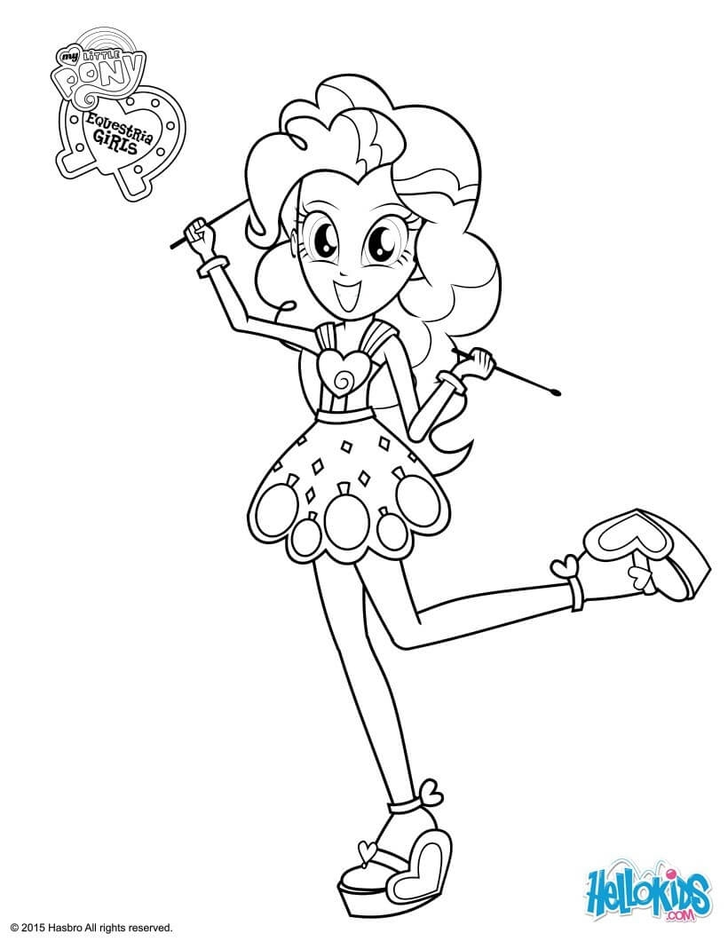 applejack coloring pages - my little pony equestria girls coloring pages