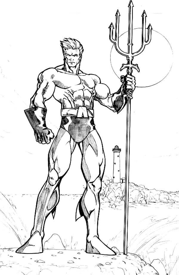 Aquaman Coloring Pages - Aquaman Coloring Page Coloring Home