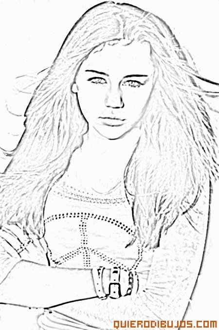 ariana grande coloring pages - 3451