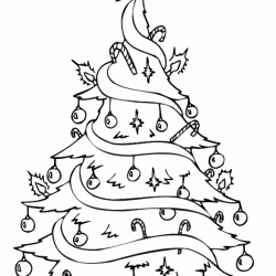ariel coloring pages - arvore de natal