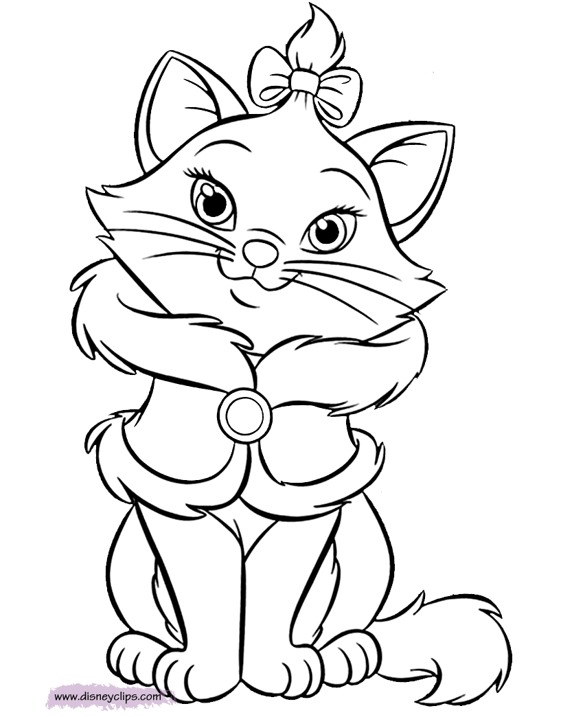 aristocats coloring pages - aristocatscolor2
