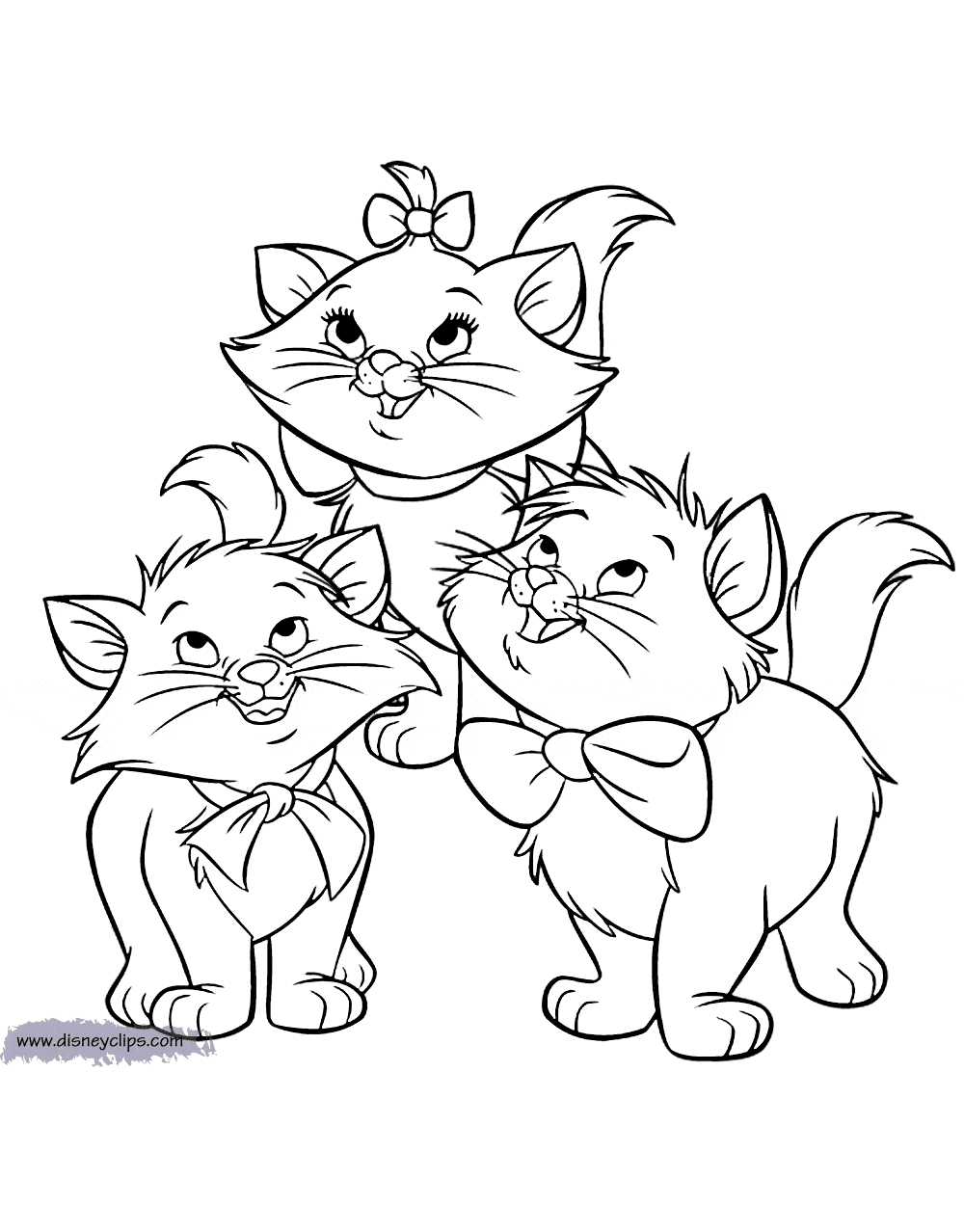 aristocats coloring pages - aristocatscolor