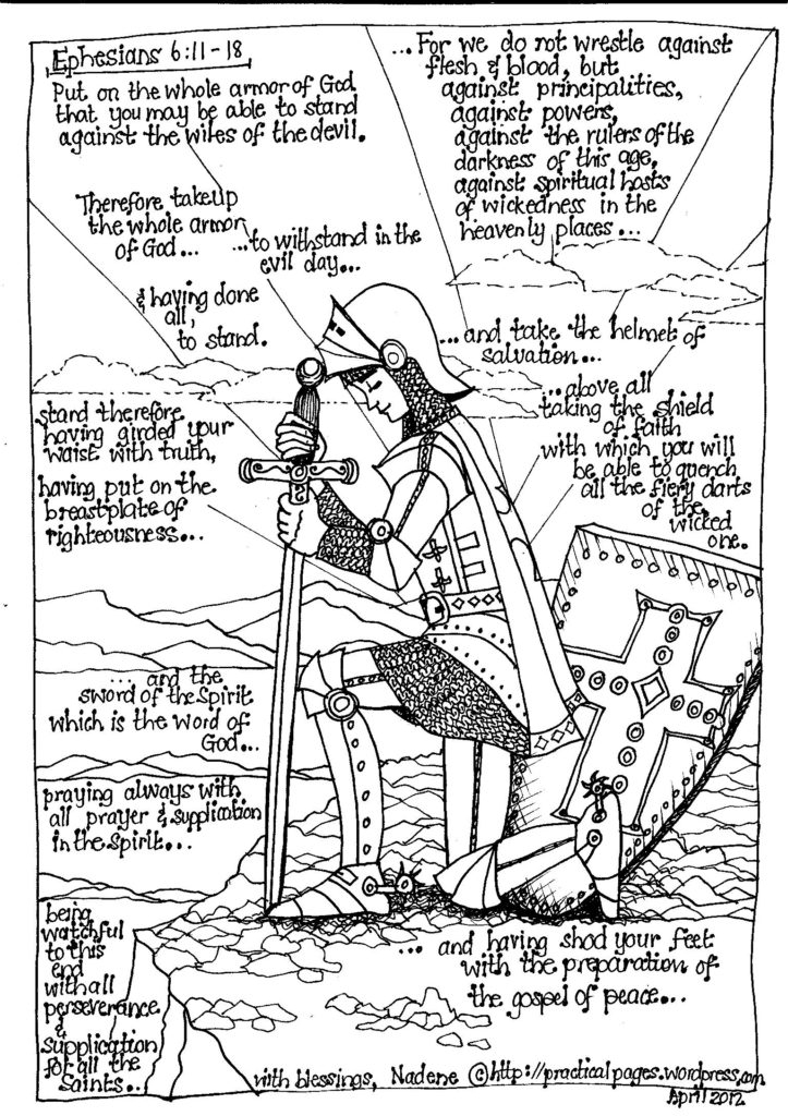 Armor Of God Coloring Pages - Armor God Coloring Pages Coloring Home