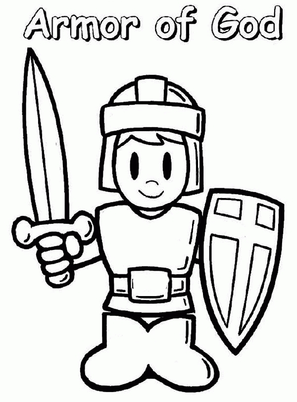 armor of god coloring pages - free coloring pages for armor of god