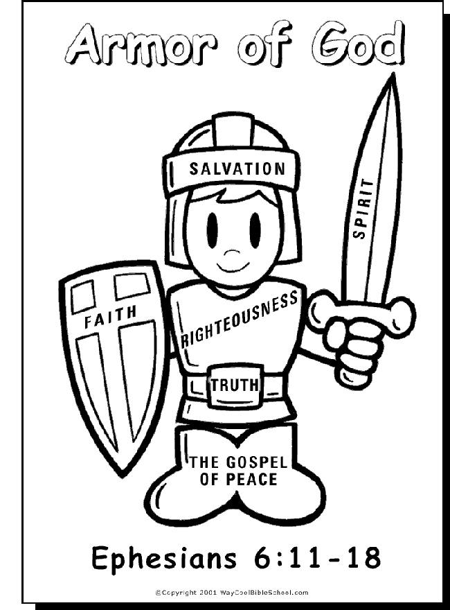 armor of god coloring pages - full armor of god coloring page sketch templates
