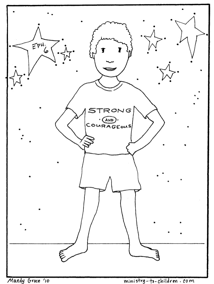 armor of god coloring pages - vbs coloring pages armor ofgod3