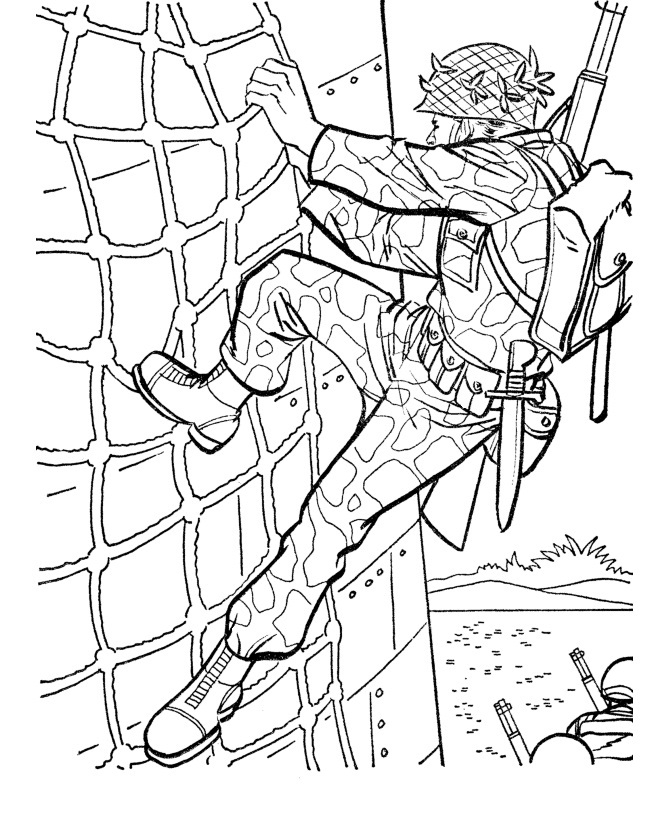 army coloring pages - best army coloring pages military training 5523