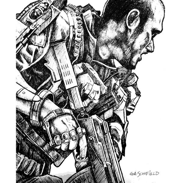army men coloring pages - call of duty advanced warfare pc ps4 xbox one