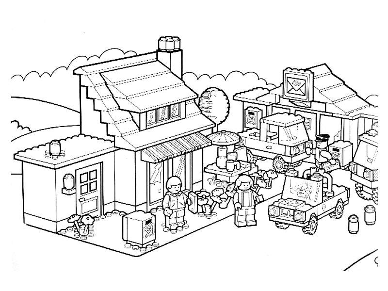 army men coloring pages - lego city coloring pages