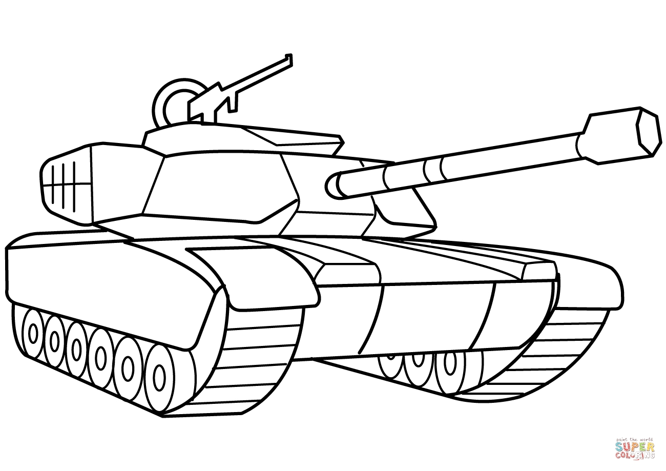 army tank coloring pages - coloring pages army tanks