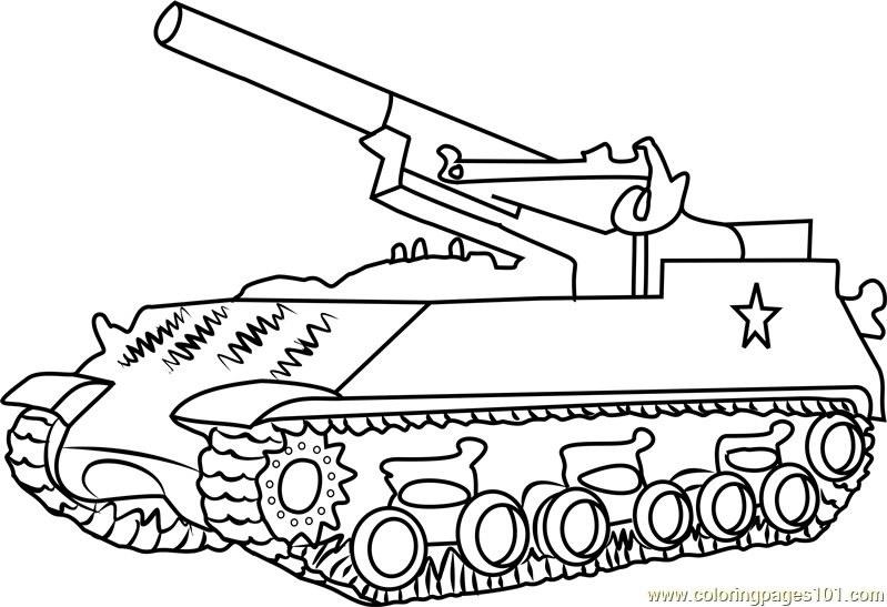 army tank coloring pages - m43 army tank coloring page