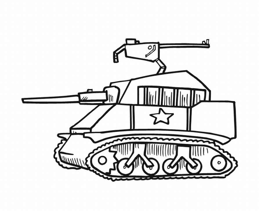 army tank coloring pages - military tank coloring pages