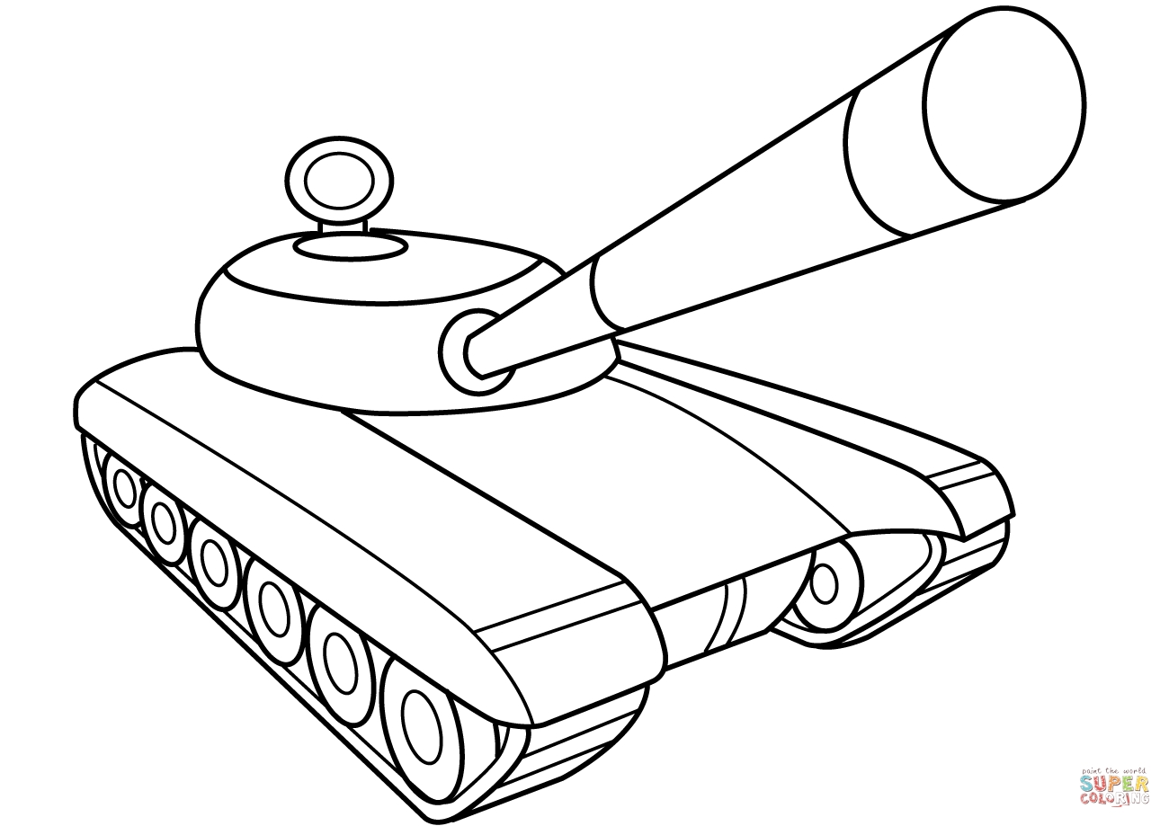 army tank coloring pages - tank coloring page