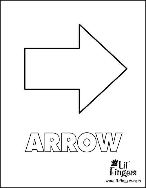 arrow coloring pages - q=arrows