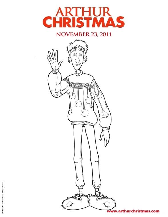 arthur coloring pages - 481