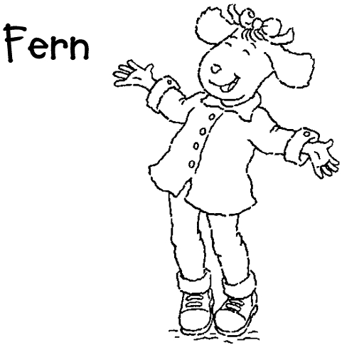 Arthur Coloring Pages - Krazy S Arthurs Coloring Page