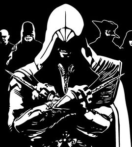 assassin's creed coloring pages -
