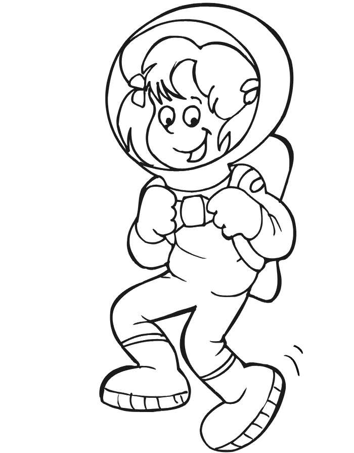 astronaut coloring pages - astronauts