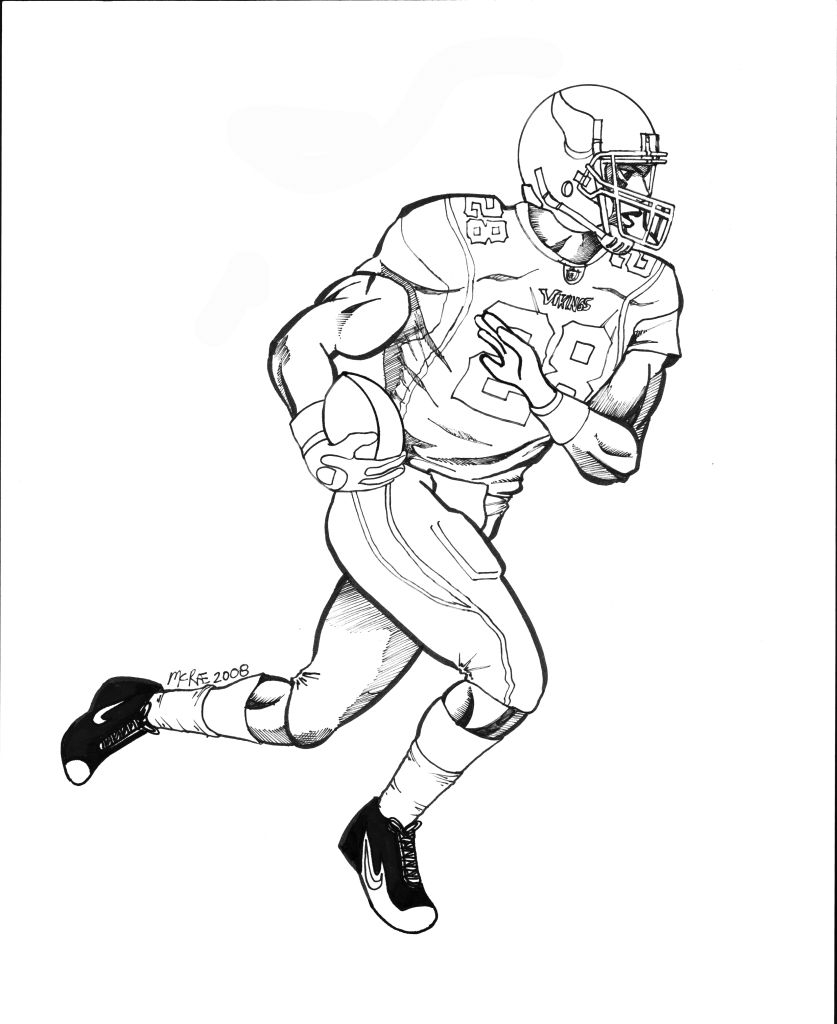 atlanta falcons coloring pages - best nfl football player coloring pages printable 9772