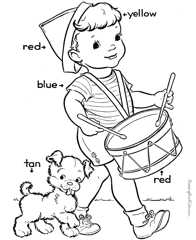 august coloring pages - color worksheets for preschool az coloring pages 14