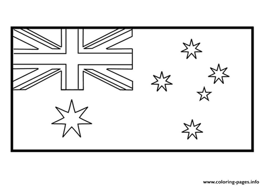 australia flag coloring page - awesome and also gorgeous australia flag coloring page with regard to inspire in coloring page
