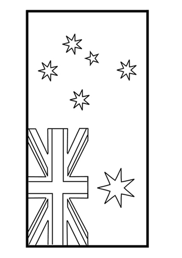 australia flag coloring page - Kids Activity SheetsColouring Pages 2 Australian Flag Colouring Page 1903 preview