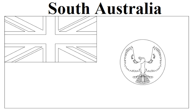 20 Australia Flag Coloring Page Images Free Coloring Pages Part 3