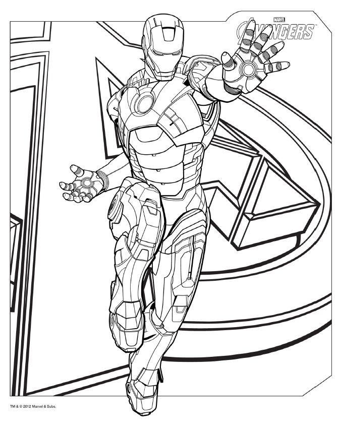 avengers coloring pages - avengers coloring pages to print
