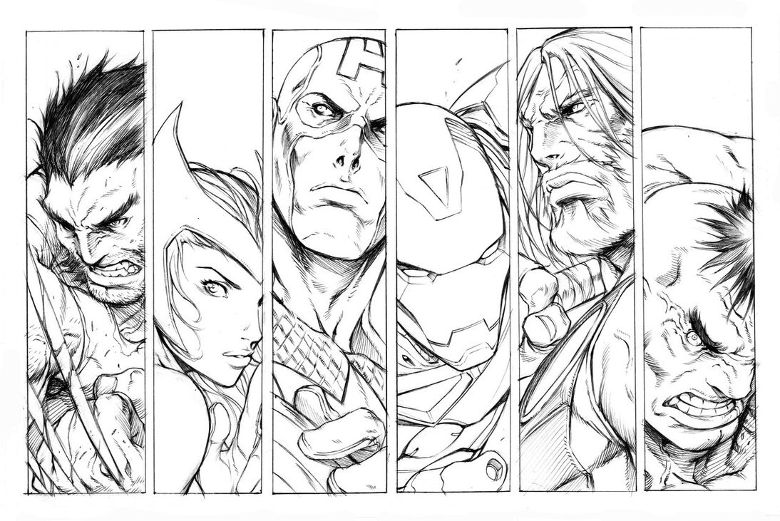 avengers coloring pages - ultimate avengers printable coloring