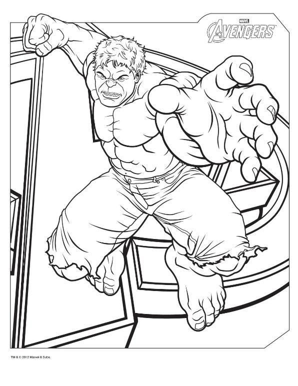 avengers coloring pages - Avengers