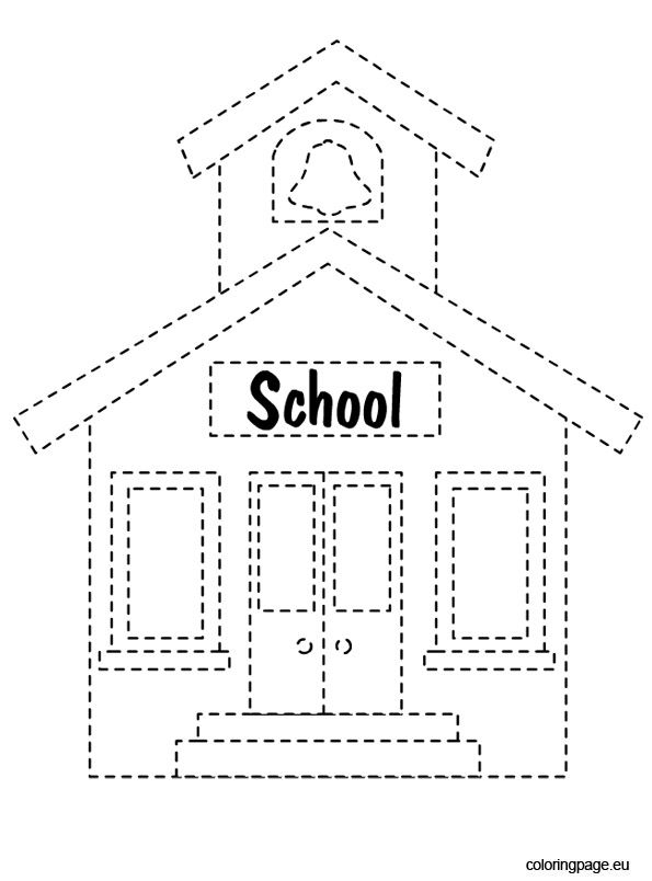 b coloring page -